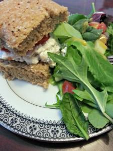 Chicken salad sandwiches www.thatswhatieat.com