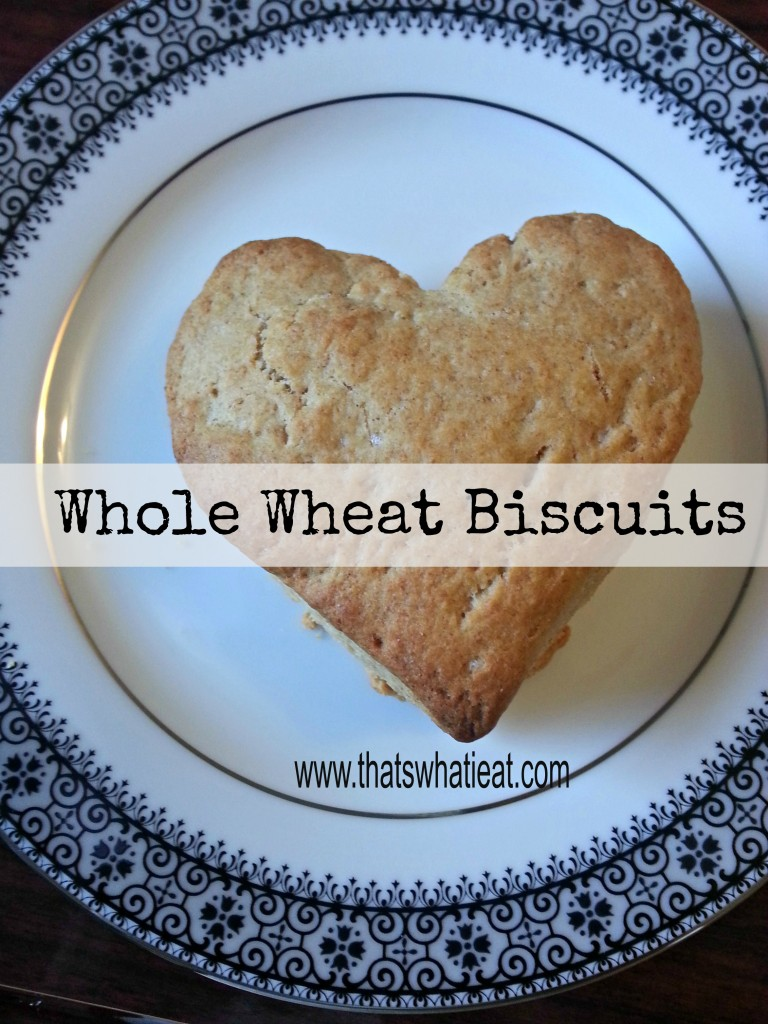 Whole Wheat Biscuits www.thatswhatieat.com