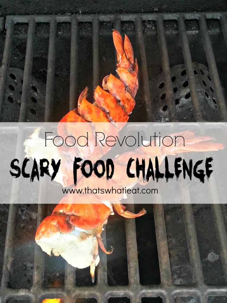 Scary Food Challenge