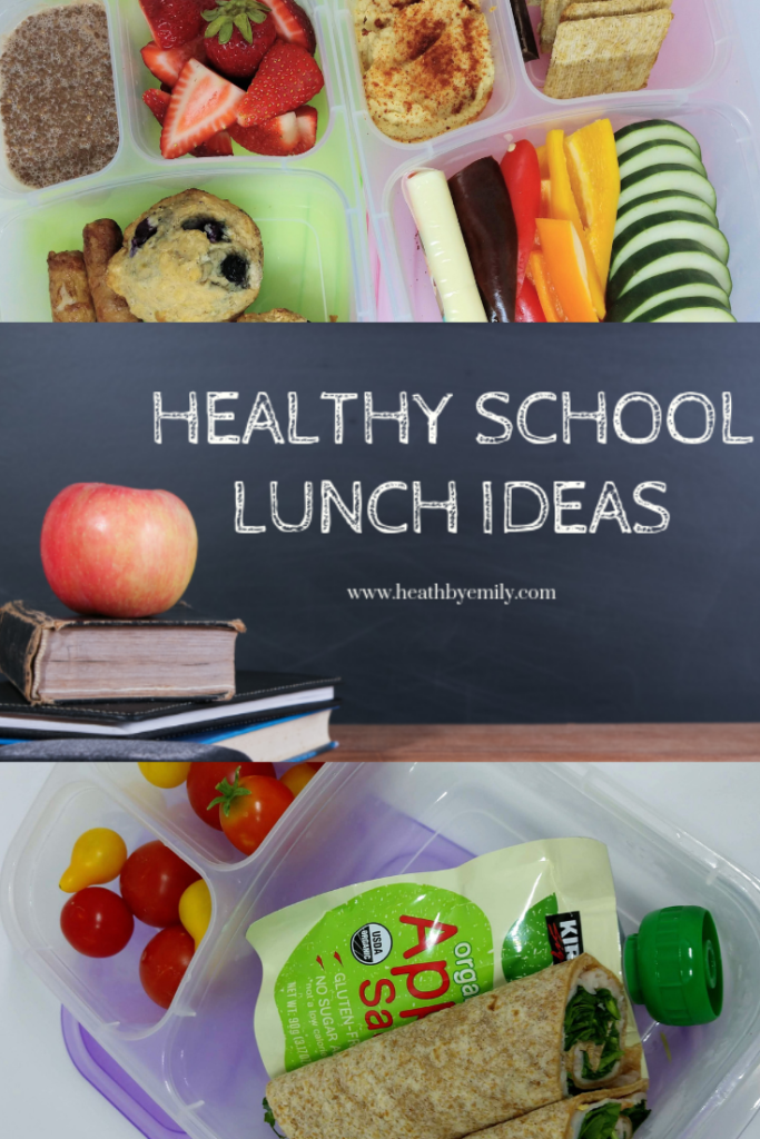 Healthy School Lunch Ideas - Feed your hungry kids delicious and healthy lunches with these tips, tools, tricks, and recipes