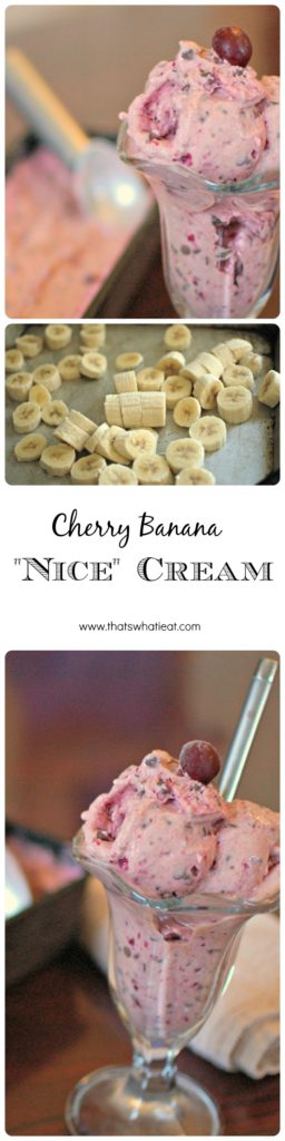 healthy-cherry-banana-nice-cream