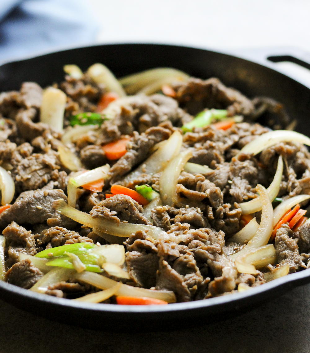 Bulgogi Beef and a Cookbook Review - Health by Emily