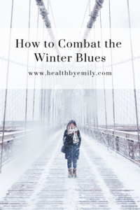 How to combat the winter blues