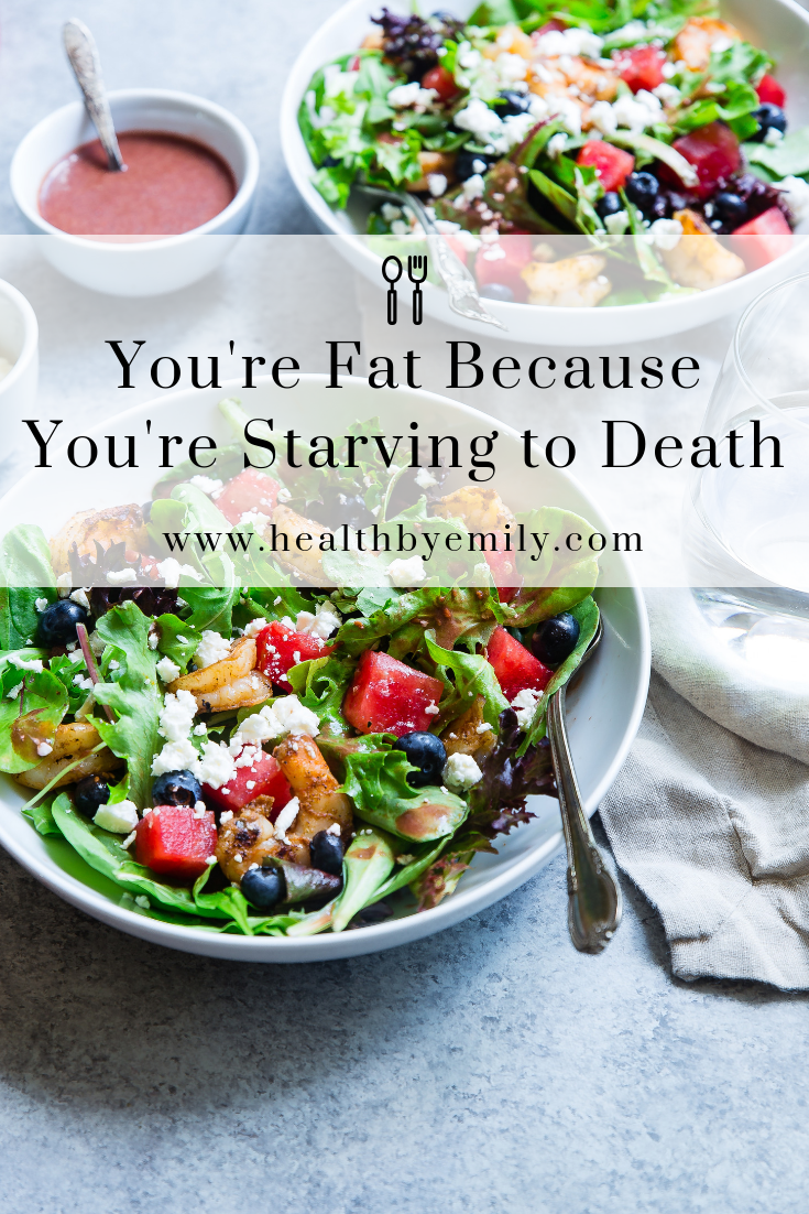 You're fat because you're starving to death exclusive masterclass